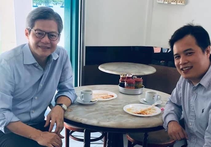 Catch up with Lee Sze Hao for breakfast the CEO of Sing Holdings lamented
