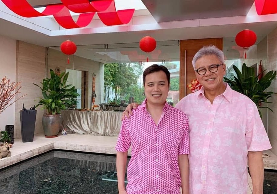 Visited Albert Teo, CEO of Amara on the Second Day of CNY