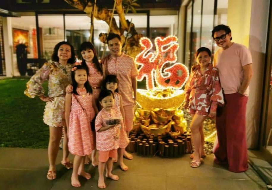 Visited the Uber-hospitable Jean Yip during CNY with my family